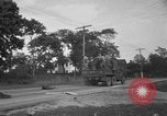 Image of U.S. Army troops practice road blocking tactics Hammond Louisiana USA, 1943, second 38 stock footage video 65675050737