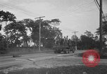 Image of U.S. Army troops practice road blocking tactics Hammond Louisiana USA, 1943, second 39 stock footage video 65675050737