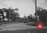 Image of U.S. Army troops practice road blocking tactics Hammond Louisiana USA, 1943, second 41 stock footage video 65675050737