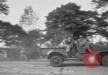 Image of U.S. Army troops practice road blocking tactics Hammond Louisiana USA, 1943, second 45 stock footage video 65675050737