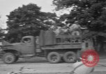 Image of U.S. Army troops practice road blocking tactics Hammond Louisiana USA, 1943, second 53 stock footage video 65675050737
