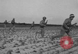 Image of Troops of 55th Brigade AAA train in ground defense tactics Hammond Louisiana USA, 1943, second 24 stock footage video 65675050738