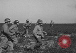 Image of Troops of 55th Brigade AAA train in ground defense tactics Hammond Louisiana USA, 1943, second 30 stock footage video 65675050738