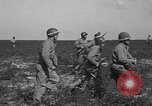 Image of Troops of 55th Brigade AAA train in ground defense tactics Hammond Louisiana USA, 1943, second 31 stock footage video 65675050738