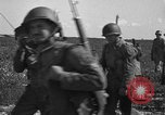 Image of Troops of 55th Brigade AAA train in ground defense tactics Hammond Louisiana USA, 1943, second 33 stock footage video 65675050738