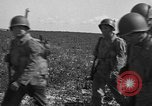 Image of Troops of 55th Brigade AAA train in ground defense tactics Hammond Louisiana USA, 1943, second 34 stock footage video 65675050738