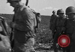 Image of Troops of 55th Brigade AAA train in ground defense tactics Hammond Louisiana USA, 1943, second 35 stock footage video 65675050738