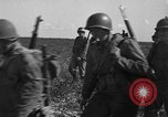 Image of Troops of 55th Brigade AAA train in ground defense tactics Hammond Louisiana USA, 1943, second 37 stock footage video 65675050738