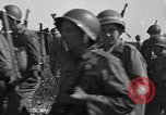 Image of Troops of 55th Brigade AAA train in ground defense tactics Hammond Louisiana USA, 1943, second 38 stock footage video 65675050738