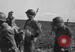 Image of Troops of 55th Brigade AAA train in ground defense tactics Hammond Louisiana USA, 1943, second 40 stock footage video 65675050738