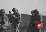 Image of Troops of 55th Brigade AAA train in ground defense tactics Hammond Louisiana USA, 1943, second 46 stock footage video 65675050738