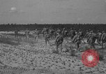 Image of Troops of 55th Brigade AAA train in ground defense tactics Hammond Louisiana USA, 1943, second 49 stock footage video 65675050738