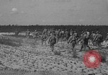 Image of Troops of 55th Brigade AAA train in ground defense tactics Hammond Louisiana USA, 1943, second 50 stock footage video 65675050738