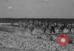 Image of Troops of 55th Brigade AAA train in ground defense tactics Hammond Louisiana USA, 1943, second 51 stock footage video 65675050738