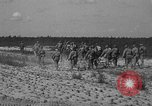 Image of Troops of 55th Brigade AAA train in ground defense tactics Hammond Louisiana USA, 1943, second 52 stock footage video 65675050738