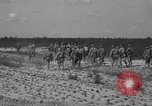 Image of Troops of 55th Brigade AAA train in ground defense tactics Hammond Louisiana USA, 1943, second 53 stock footage video 65675050738