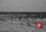 Image of Troops of 55th Brigade AAA train in ground defense tactics Hammond Louisiana USA, 1943, second 54 stock footage video 65675050738