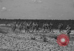 Image of Troops of 55th Brigade AAA train in ground defense tactics Hammond Louisiana USA, 1943, second 55 stock footage video 65675050738