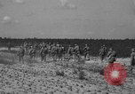 Image of Troops of 55th Brigade AAA train in ground defense tactics Hammond Louisiana USA, 1943, second 56 stock footage video 65675050738