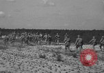 Image of Troops of 55th Brigade AAA train in ground defense tactics Hammond Louisiana USA, 1943, second 58 stock footage video 65675050738