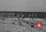 Image of Troops of 55th Brigade AAA train in ground defense tactics Hammond Louisiana USA, 1943, second 60 stock footage video 65675050738