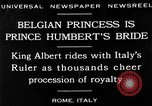Image of Prince Humbert II Rome Italy, 1930, second 2 stock footage video 65675050767