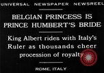 Image of Prince Humbert II Rome Italy, 1930, second 5 stock footage video 65675050767