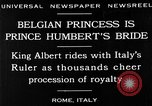 Image of Prince Humbert II Rome Italy, 1930, second 7 stock footage video 65675050767