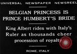 Image of Prince Humbert II Rome Italy, 1930, second 9 stock footage video 65675050767