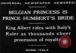 Image of Prince Humbert II Rome Italy, 1930, second 14 stock footage video 65675050767