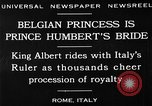Image of Prince Humbert II Rome Italy, 1930, second 15 stock footage video 65675050767