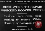 Image of repair of White House Washington DC USA, 1930, second 2 stock footage video 65675050768