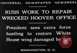 Image of repair of White House Washington DC USA, 1930, second 5 stock footage video 65675050768