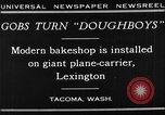 Image of bakeshop on Navy ship Tacoma Washington USA, 1930, second 12 stock footage video 65675050770