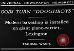 Image of bakeshop on Navy ship Tacoma Washington USA, 1930, second 14 stock footage video 65675050770