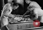Image of bakeshop on Navy ship Tacoma Washington USA, 1930, second 37 stock footage video 65675050770