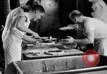 Image of bakeshop on Navy ship Tacoma Washington USA, 1930, second 38 stock footage video 65675050770