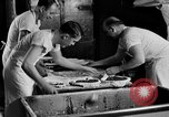 Image of bakeshop on Navy ship Tacoma Washington USA, 1930, second 39 stock footage video 65675050770