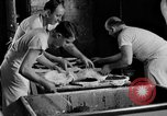 Image of bakeshop on Navy ship Tacoma Washington USA, 1930, second 40 stock footage video 65675050770