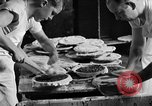 Image of bakeshop on Navy ship Tacoma Washington USA, 1930, second 41 stock footage video 65675050770