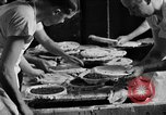 Image of bakeshop on Navy ship Tacoma Washington USA, 1930, second 43 stock footage video 65675050770