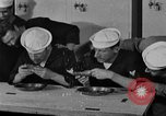 Image of bakeshop on Navy ship Tacoma Washington USA, 1930, second 51 stock footage video 65675050770