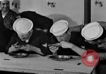 Image of bakeshop on Navy ship Tacoma Washington USA, 1930, second 52 stock footage video 65675050770