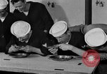 Image of bakeshop on Navy ship Tacoma Washington USA, 1930, second 53 stock footage video 65675050770