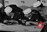 Image of bakeshop on Navy ship Tacoma Washington USA, 1930, second 54 stock footage video 65675050770