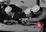 Image of bakeshop on Navy ship Tacoma Washington USA, 1930, second 55 stock footage video 65675050770