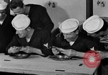 Image of bakeshop on Navy ship Tacoma Washington USA, 1930, second 56 stock footage video 65675050770