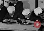 Image of bakeshop on Navy ship Tacoma Washington USA, 1930, second 57 stock footage video 65675050770