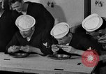 Image of bakeshop on Navy ship Tacoma Washington USA, 1930, second 58 stock footage video 65675050770