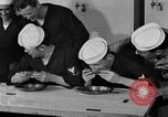 Image of bakeshop on Navy ship Tacoma Washington USA, 1930, second 59 stock footage video 65675050770